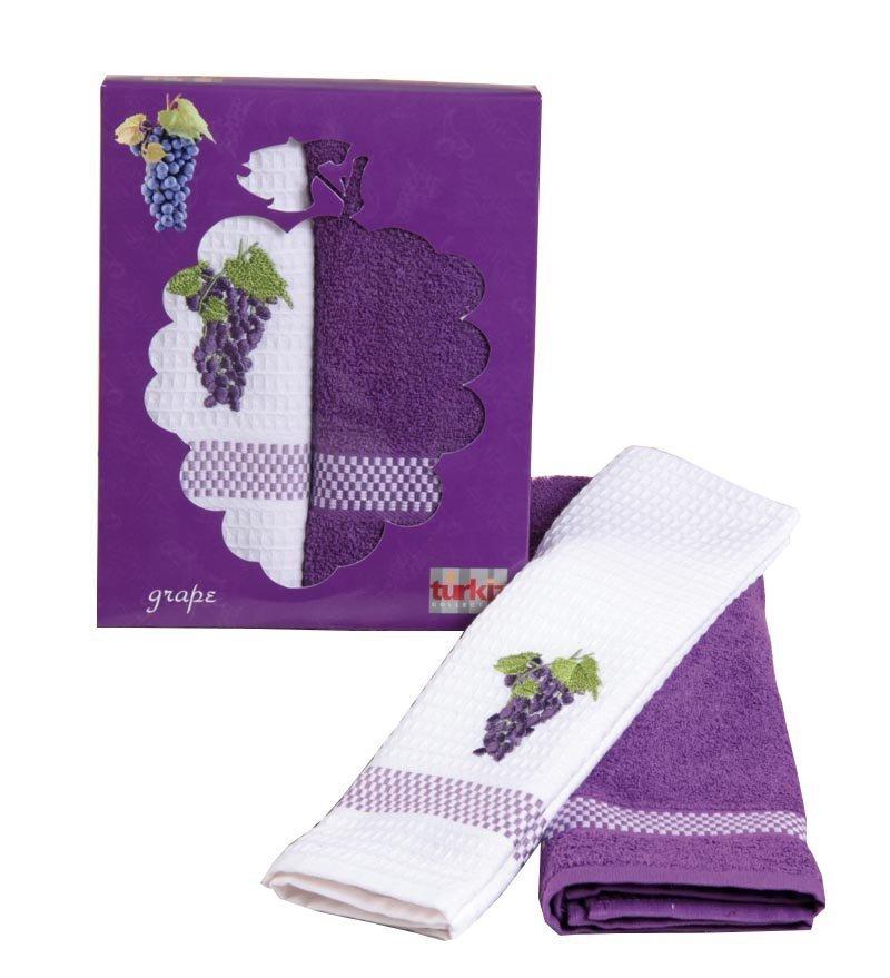 Komplet ręczników kuchennych FRUTTA 2x 50x70  wz. T28015/E