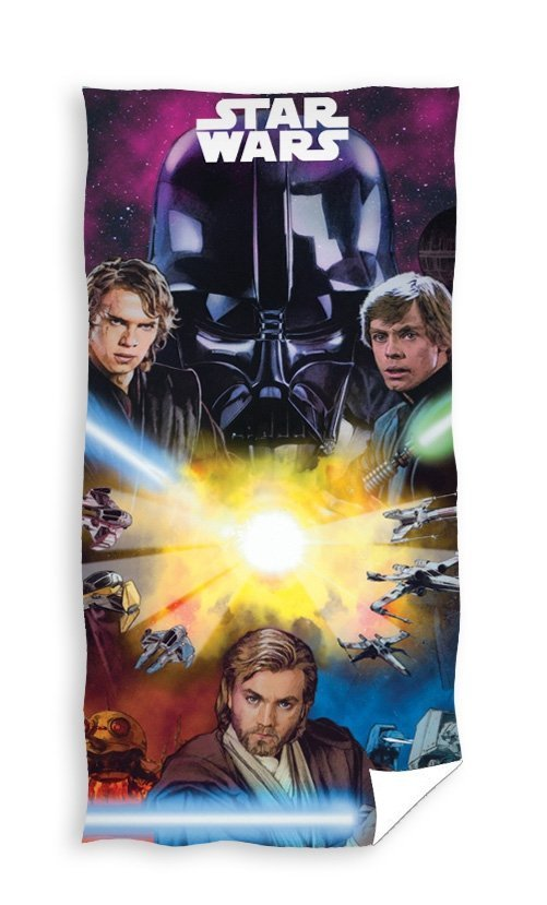 Ręcznik licencyjny - Stars Wars - rozmiar 70x140 wz. sw002
