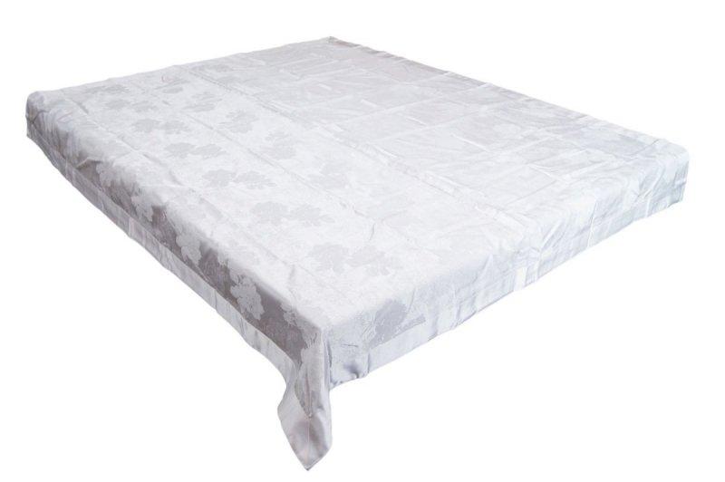 Obrus teflonowy rozmiar 130x160 wzór biały (239)