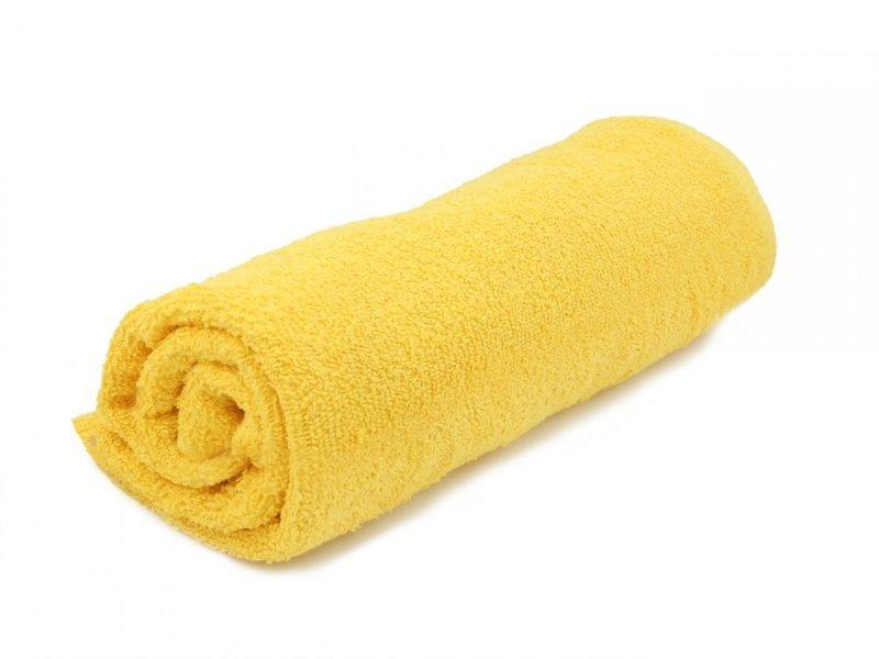 Ręczniki, ręcznik jednobarwny MODENA  rozmiar 50x100 wz. żółty