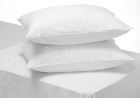 Poszewka, poszewki na poduszkę biała hotelowa, hotel 40x40