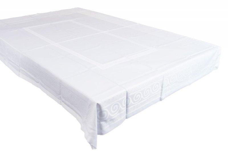 Obrus teflonowy bello rozmiar 140x200 wzór biały (253)