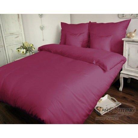 Poszewka na poduszkę 70x80 - 100% bawełna satynowa DARYMEX, zapięcie na zamek wz. jasny fiolet 040