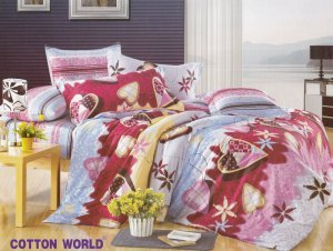 """Poszewka na poduszkę 70x80, 50x60 lub inny rozmiar - """"KORA"""" zapięcie na zamek Cotton KB23"""