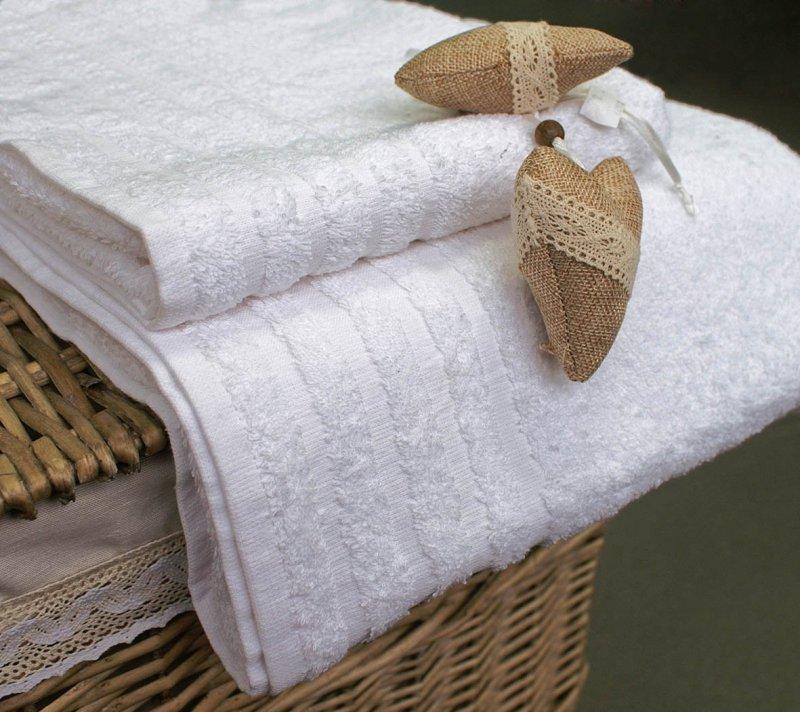 Ręcznik Hotelowy Andropol Ekonomik 450 z bordiurą roz. 70x140