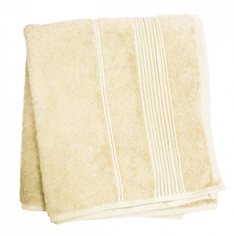 Promocja !! Ręcznik Bambusowy Moreno rozmiar 50x90 - Krem