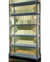 Plastikregal Kunststoffregal Steckregal  Tytan-6-80 (222x80x46), 6 Böden, 3 Farben