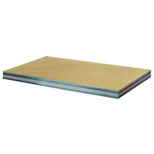 Zusatzboden 040 x 040_P zu Metallregal Helios VERZINKT und pulverbeschichtet alle FARBEN
