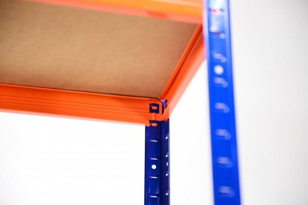 Metallregal Werkstatt Schwerlastregal Helios 196x100x50_6 Böden, Tragkraft bis 400 Kg pro Boden,  Viele Farben zur Auswahl