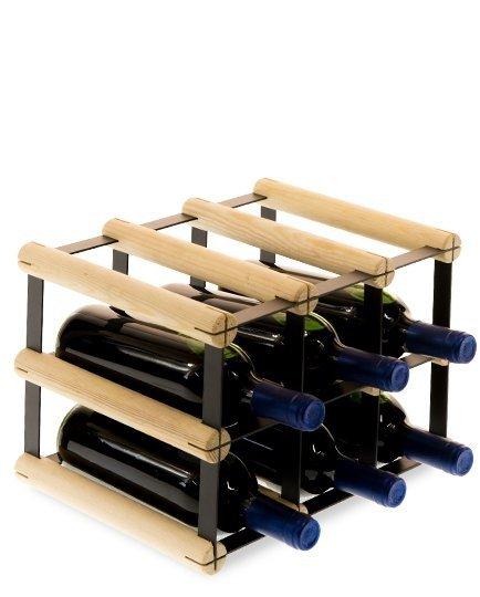 Weinregal, mehreren Varianten für 3 bis 27 Flaschen Serie RW-8-3, Preise ab: