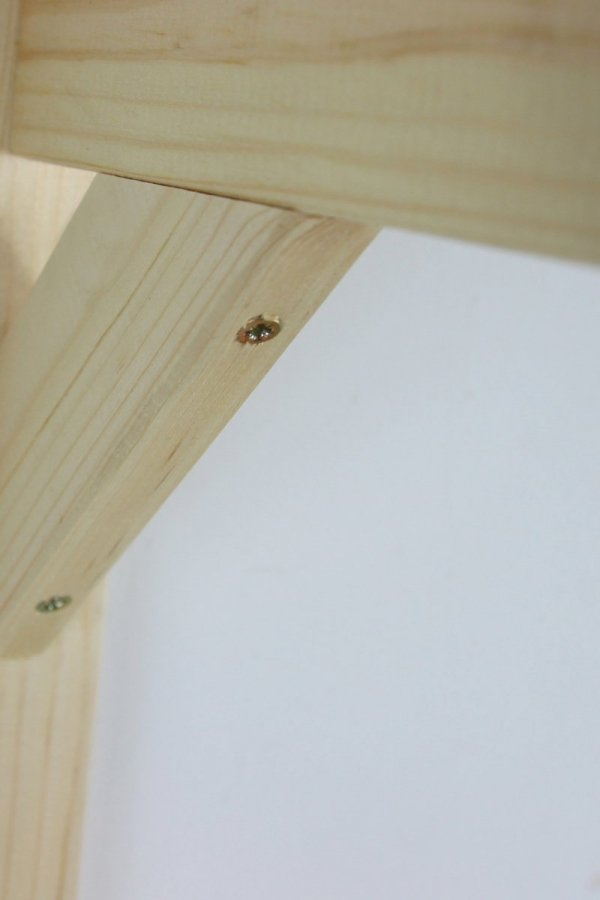 Wandhaken  für Vogelhaus / Blumentopf Holz K-W