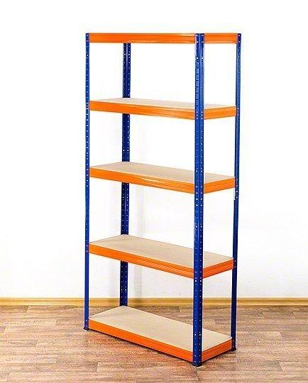 Metallregal Werkstatt Schwerlastregal Helios 180x100x35_5 Böden, Tragkraft bis 400 Kg pro Boden,  Viele Farben zur Auswahl