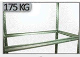 Zusatzboden 120 x 045_P zu Metallregal Helios VERZINKT und pulverbeschichtet alle FARBEN