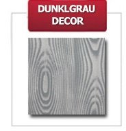 Weinregal Holz 9 Flaschen, RW-16-9, (33,8x26,5x37,4), Dunkelgrau, Ecru, Dunkelgrau Decor, Dunkelbraun Decor