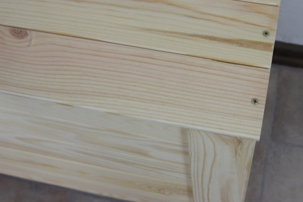 Holzkiste Holztruhe Truhe Kiste Wäschetruhe Box Piratenkiste B-16 /unbehandelt, (77x38x50 cm)