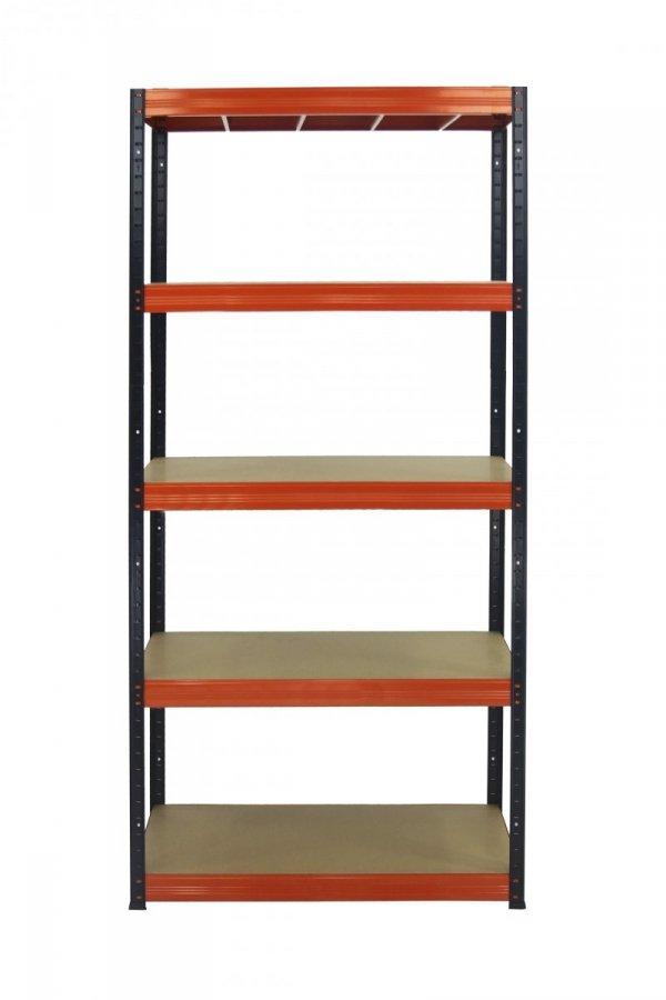 Metallregal Werkstatt Schwerlastregal  bunt farbig  Helios 196x110x45 5 Stabil