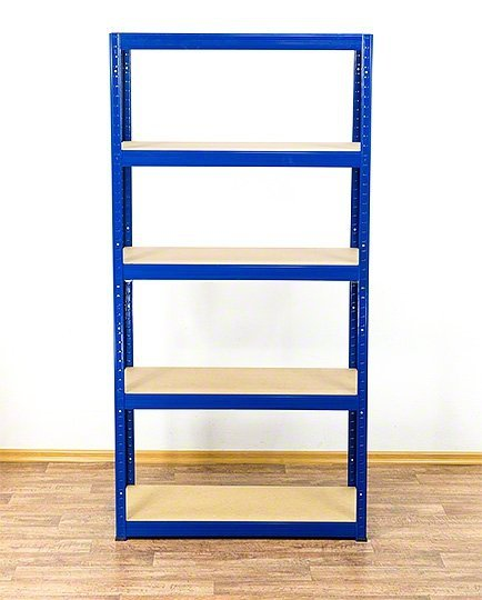 Metallregal Werkstatt Schwerlastregal  bunt farbig  Helios 180x075x35 5 Stabil