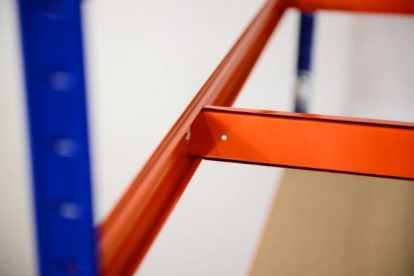 Metallregal Werkstatt Schwerlastregal  bunt farbig  Helios 196x090x50 6 Stabil