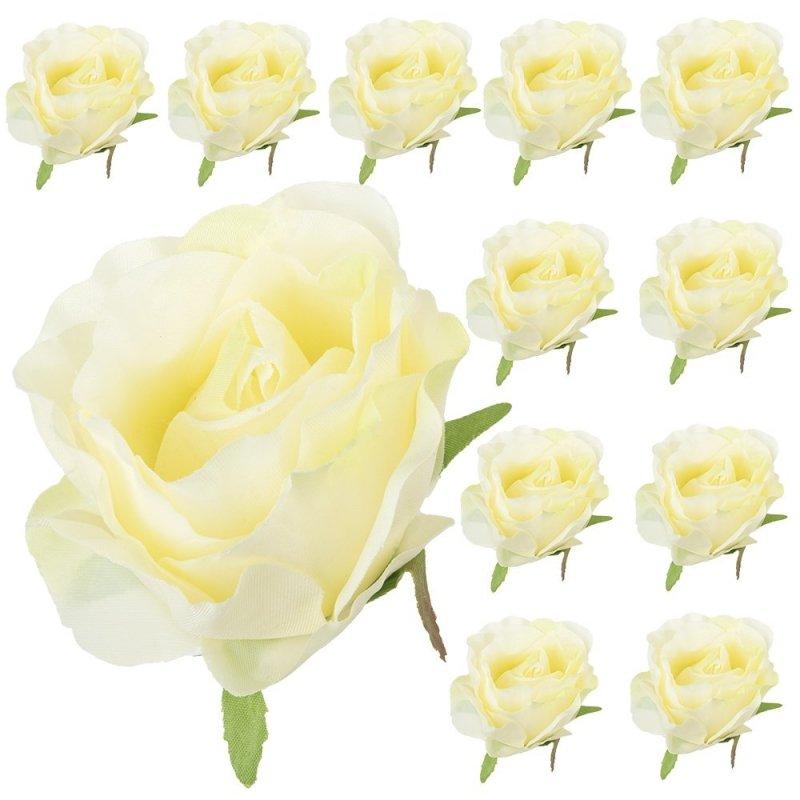 Główka Róża Krem/Pistacja 12szt