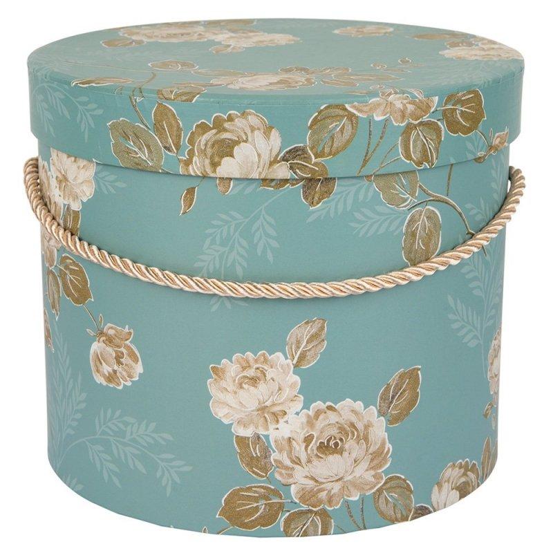 Flower Box Turkus w Kwiaty Średni
