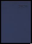Kalendarz 2020 TOP 2000 Standard A4 dzień na stronie, granatowy 400126106