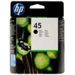 Tusz HP 45 do Deskjet 980/1000/1100/1120/1280/1600 | 930 str. | black