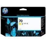 Tusz HP 70 Vivera do Designjet Z2100/3100/3200/5200   130 ml   yellow