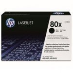 Toner HP 80X do LaserJet Pro 400 M401/425 | 6 900 str. | black