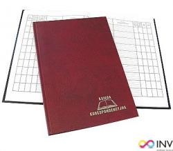 Książka korespondencyjna A4 96k - bordo WARTA 1824-229-007