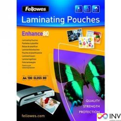Folia do laminowania FELLOWES 80 mic A5 100szt 5306002
