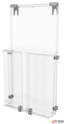 Kieszeń na ulotki wisząca A6 0403-0037-00 PANTA PLAST