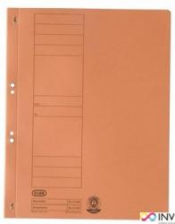 Skoroszyt z oczkiem A4 pomarańczowy 100551874 ELBA