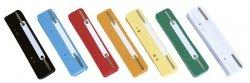 Wąsy skoroszytowe DONAU, PP, z metalową blaszką, 25szt., mix kolorów