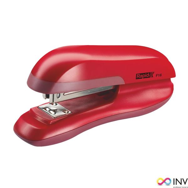 Zszywacz Fashion F16 RAPID czerwony 20 kartek