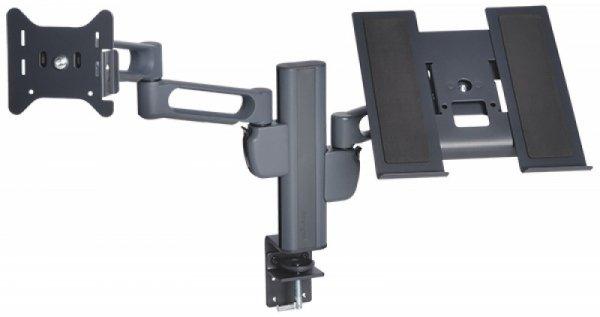 Uchwyt na dwa monitory KENSINGTON SmartFit™, czarny