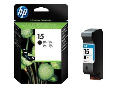 HP Głowica nr 15 C6615DE Black 25ml