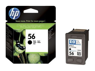 HP Tusz nr 56 C6656AE Black 19ml