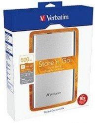 VERBATIM STORE 'N' GO ULTRASLIM 500GB USB 3.0 2,5