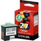 Tusz Lexmark 27 do Z-13/23/33/35, X-75/1270/1250 | CMY