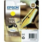 Tusz Epson T1634 XL do WF-2520NF/2530WF/2510WF | 6.5ml | yellow