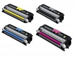 Komplet tonerów CMYK Konica Minolta A0V1600KMPL  do Magicolor 1600W / 1650EN / 1680MF / 1690MF  4 x 2,5 tys. str.