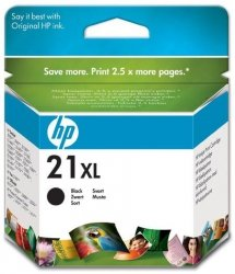 Tusz HP No 21XL czarny C9351CE poj. 12ml do DeskJet 3940 / DeskJet  3920 / PSC 1410