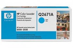Toner HP Q2671A cyan do Color LaserJet 3500 / 3550 na 4 tys. str.
