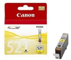 Tusz Canon CLI521Y yellow poj. 9ml do PIXMA iP3600 / iP4600 / MP540 2936B001