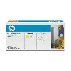 Toner HP Q6002A yellow do CLJ 1600 / 2600 / 2600N / 2605DN / 2605DTN / CM1015 / CM1017 / na 2 tys. str.