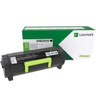 Kaseta z tonerem Lexmark do MS-317 417 517 617 | zwrotny | 2 500 str. | black