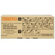 Toner Utax do CDC-1520/1532/1625/1635 | 7 000 str. | cyan