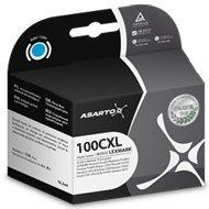 Tusz Asarto do Lexmark 100   14 ml   Pro205 / Pro905   cyan