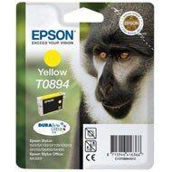 Tusz Epson T0894 do Stylus S20, SX-100/105/200/205 | 3,5ml | yellow