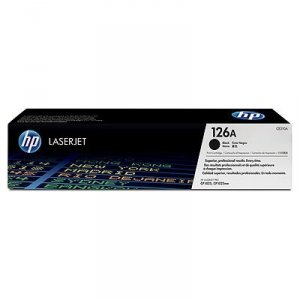 Toner oryginalny HP 126A (CE310A) black do HP Color LaserJet CP1025 / Pro 100 Color MFP M175a / Laserjet Pro M275  na 1,2 tys. str.